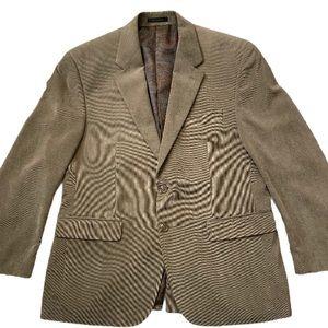 Ralph Lauren Men's Taupe Corduroy Sports Coat